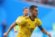 [월드컵] '아자르 추가골' 벨기에, 잉글랜드에 2-0 리드