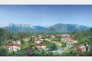 울산바위 보이는 별장형 리조트 '설악밸리' 5년 회원권 한정모집