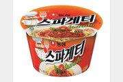 5분만에 완성되는 '정통 스파게티의 맛' 농심 스파게티