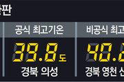 밤낮 없는 폭염… 서울 2일 아침에도 30.3도