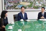 김영록 전남지사, 순천대 방문 '적극지원' 약속