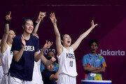 AG 단일팀 대미를 장식할 여자농구
