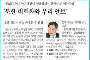 [알립니다]제15회 化汀 국가대전략 월례강좌… 신원식 前 합참차장 '북한 비핵화와 우리 안보'