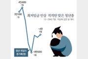 최저임금에 날아간 알바… '청년실업률 10%' 19년만에 최악