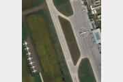 국내 기술진이 만든 위성에 찍힌 '순안공항 공군 1호기'