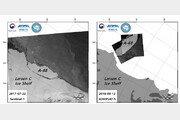 남극서 떨어진 초거대 빙산, 1년2개월 동안 100km 이동