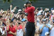 골프황제 우즈, 5년 만에 우승…PGA투어 통산 80승
