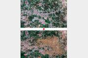 위성으로 포착한 印尼 강진-쓰나미 전후