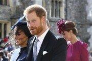 英해리왕자와 부인 메간, 16일간 호주방문 시드니 도착