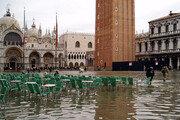 """""""21세기말엔 베네치아 97%가 물에 잠길수도"""""""