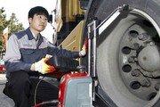 금호타이어, 트럭·버스 타이어 무상점검 실시