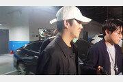 구하라-전 남자친구, 심야 경찰서 대면…11시께 침묵 귀가