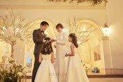 '결혼' 양미라, 본식 사진 공개… 아름다운 10월의 신부
