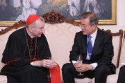 중요회의 시간 쪼개준 교황청…'디모테오' 文에게 특별 성의