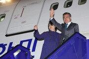 [속보] 文대통령, 7박9일 유럽순방 마치고 서울공항 도착
