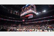 삼성전자, NBA경기장에 '360도 LED 스크린'
