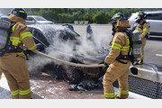 """'BMW 화재' 첫 공판…피해자들 """"사고 후 운전 못하고 있어"""""""