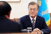 文대통령 국정수행 지지율 55.1%…6주째 하락세