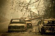 美 캘리포니아 동시다발 산불… 25명 사망 110명 실종