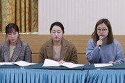 """여자컬링 팀킴 """"선수 아닌 팀 몫 격려금, 행방불명""""…재반박 기자회견"""