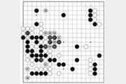[바둑]알파고 vs 알파고 특선보… 중앙을 버리다