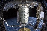 국제우주정거장에 도착한 새 보급캡슐
