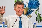 '출장비 5억원 지출' 솔하임 UNEP 사무총장, 결국 사임 발표