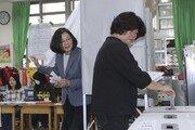 대만 집권당, 지방선거서 참패…차이잉원 차기 대선출마 불투명