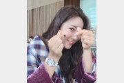 '이완의 그녀' 이보미,  돋보이는 미모 속 '손가락♥'…당연히 그에게?