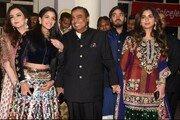 이재용도 결혼식 참석…'인도 최고갑부' 암바니家는?