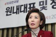 '친박' 업고 선출된 나경원…'보수 통합'에 어떤 영향?