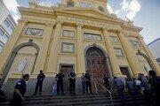 브라질 성당 미사 중 총격 4명 숨져 '아수라장'…범인은 자결