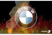 구리 지하주차장서 주차하던  BMW에 불