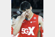 49점 터뜨리고 눈물 터진 김선형