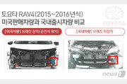 한국용 차량에 보강재 빼고 수출…토요타 부당광고 과징금 8억