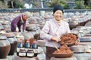 전통 발효방식으로 담근 명가의 장 맛