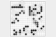 [바둑]알파고 vs 알파고 특선보… 흑, 나약하게 물러서다