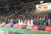 우간다 만델라 국립스타디움서 박옥수 목사, 10만명에게 신년 메시지