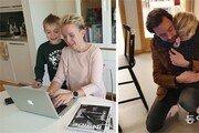 재택근무 하면서 아이 돌보는 스웨덴… 가사-육아도 부부가 절반씩