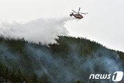 [속보] 포항 흥해 양백산에 불…강풍 타고 확산