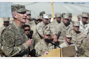 """아사히 """"미국, 탈레반과 미군 아프간 완전철수 원칙 합의"""""""