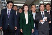 북미회담 변수에 한국당 전대 연기 논의…당권주자 신경전