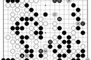 [바둑]알파고 vs 알파고 특선보… 마지막 상변 전투