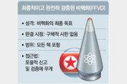 CVC는 '북핵 개발 잠금장치'… 기존 핵은 포함안돼 논란 여지