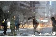 서울·수도권 출근길 눈 펑펑…1㎝ 이상은 올겨울 두번째