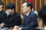 """홍영표 """"5·18망언 3인방 퇴출시켜야…한국당은 의지없어"""""""