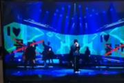 산이, '몰카 옹호' 논란에 리허설 영상 공개…'I♡몰카'→'몰카X' 반전