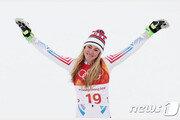 시프린, 알파인 세계선수권 여자 회전 우승…최초 4연패