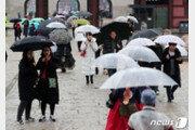 """[날씨]18일 맑고 한낮 포근…제주·호남·경남 """"우산 챙기세요"""""""