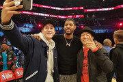 [연예뉴스 HOT5] 이기우·상추, NBA 폴 조지와 인증샷